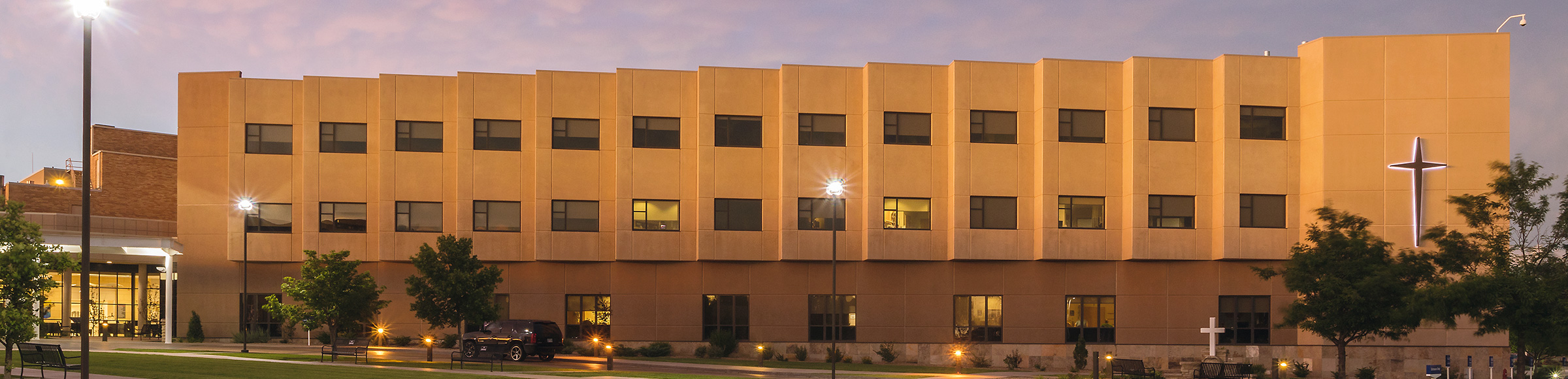 Image Of St. Catherine Hospital Building. 401 E Spruce St. Garden City,  Kansas 67846