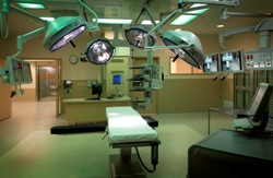 Photo of trauma room