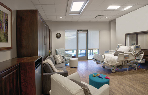 Mercy Hospice House Patient Room