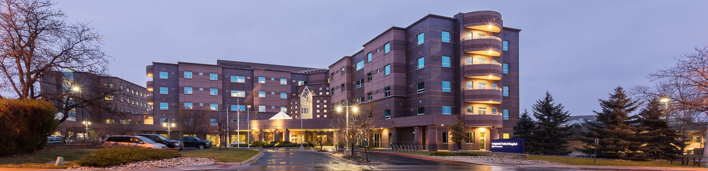 Longmont United Hospital building