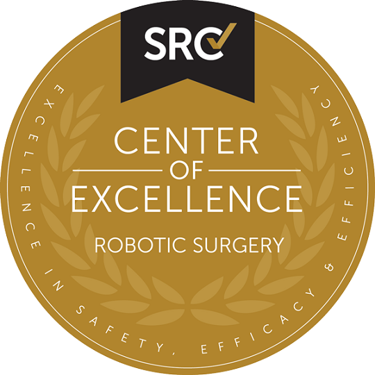 Center of Excellence Seal Robotic Surgery