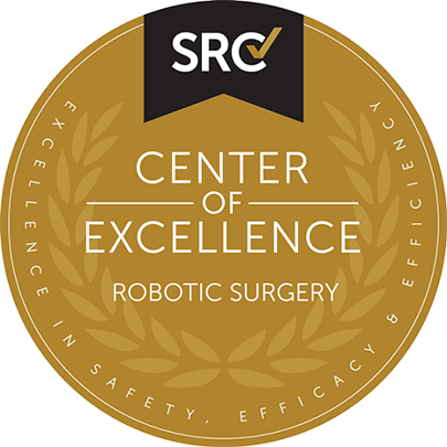 Center of Excellence designation for Robotic Surgery (COERS) from the Surgical Review CorporationCenter of Excellence designation for Robotic Surgery (COERS) from the Surgical Review Corporation