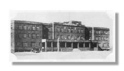 Historical picture of Porter Sanitarium and hospital in 1930