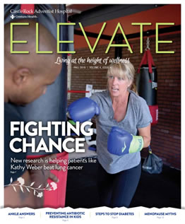 Cover of Elevate Magazine Fall 2016 Issue
