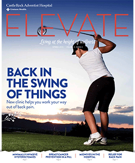 Cover of Elevate Magazine Spring 2015