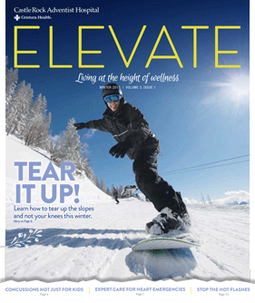 Cover of Elevate Magazine Winter 2015 Issue
