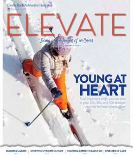 Cover of Elevate Magazine Winter 2016 Issue