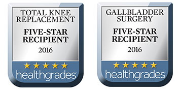 St. Thomas More Hospital has received 5 stars