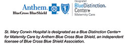 Blue Distinction Specialty+ Center for Maternity Care