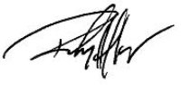 Randy Haffner, Ph.D's Signature