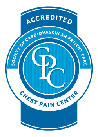 Accredited Chest Pain Center by Society of Cardiovascular Patient Care