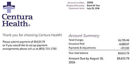 Medical financing billing and financial services centura health bill altavistaventures Gallery