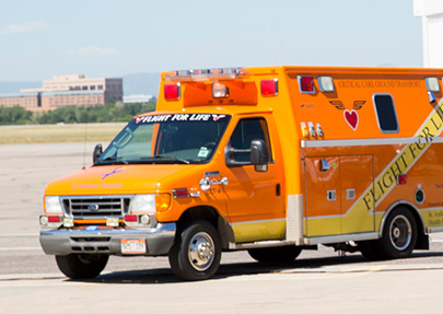 Flight for Life Ambulance