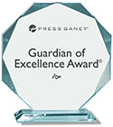Press Ganey Guardian of Excellence Award 2017